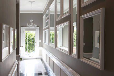 Hall Of Mirrors Hallway Mirror Hallway Designs Dark Hallway