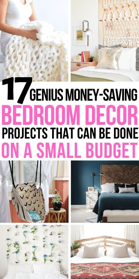 Diy Room Decor Ideas For Small Rooms Bedroom Decor On A Budget