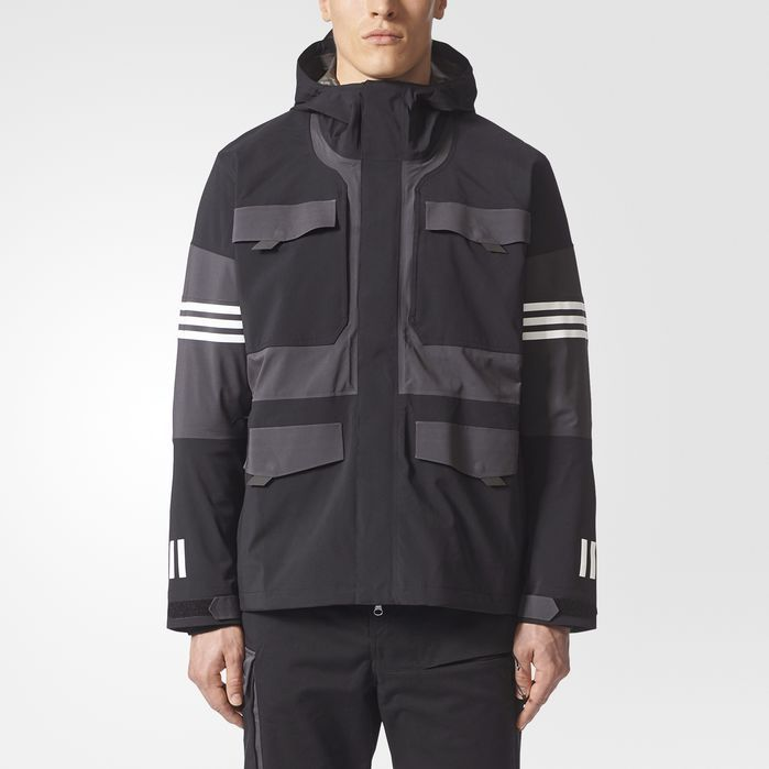 White Mountaineering Cross 3 Stripes Jacket in 2019