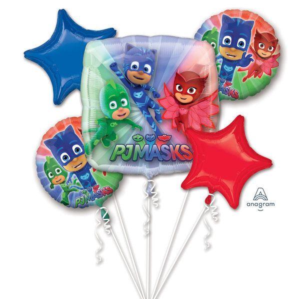 "PJ Masks Airwalker 50/"" Foil Balloon Boys Pajama Heroes Birthday Party Supplies"