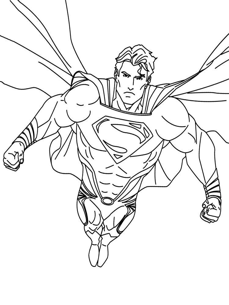 Imprimir Gratuitamente Desenhos De Super Herois Para Colorir Com