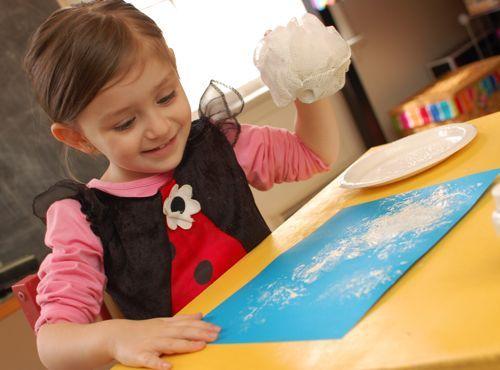 cute idea for the preschool class