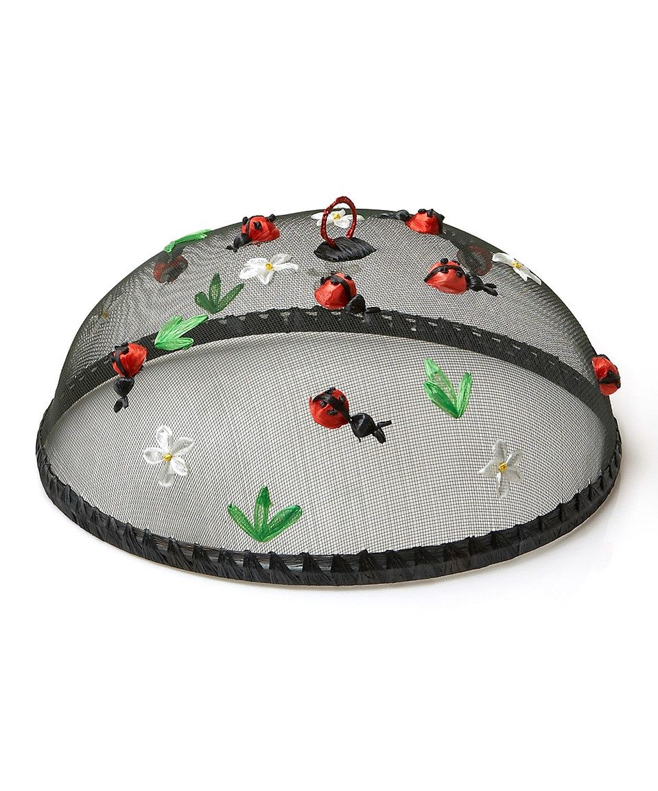 Take a look at this Ladybug Food Dome - Set of Four today!