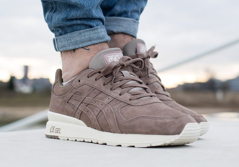 new product 1d73d 90259 Asics GT II 2 Suede 'Taupe Grey' (daim gris) homme | shoes ...