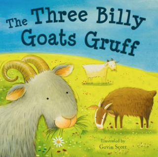 Three Billy Goats Gruff: Great picture book for integrating instruments into a music lesson! Blog post includes other great ideas for your music classroom!