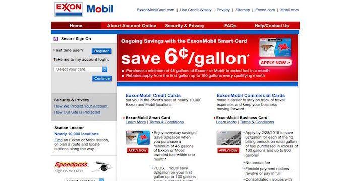 Exxonmobil Bill Pay Online Login Customer Service Sign In