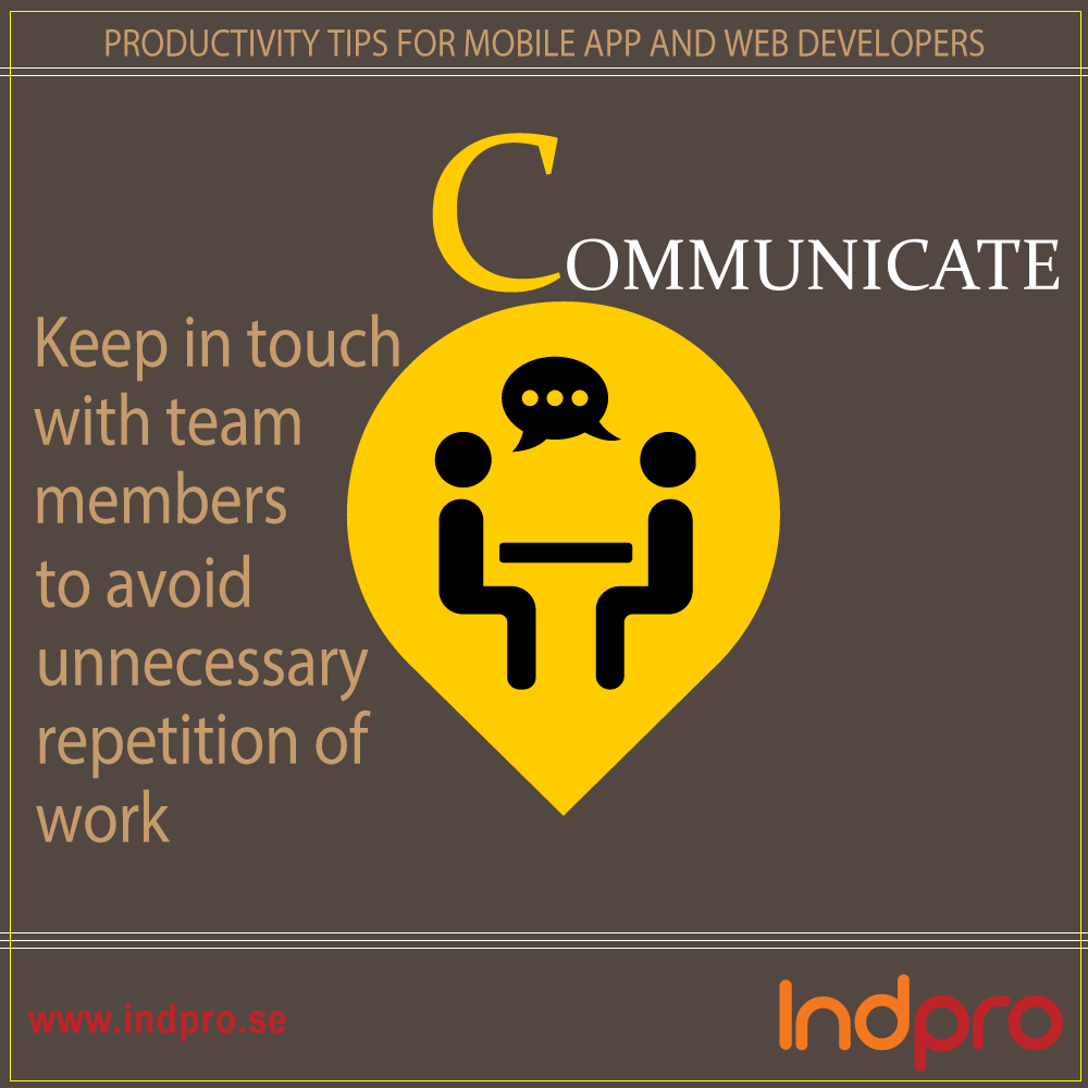 Productivity Tip.5 For Developers http://www.indpro.se/our-offer/project/mobile-apps/ … #Software Development #WebDevelopers  #MobileAppDeveloper