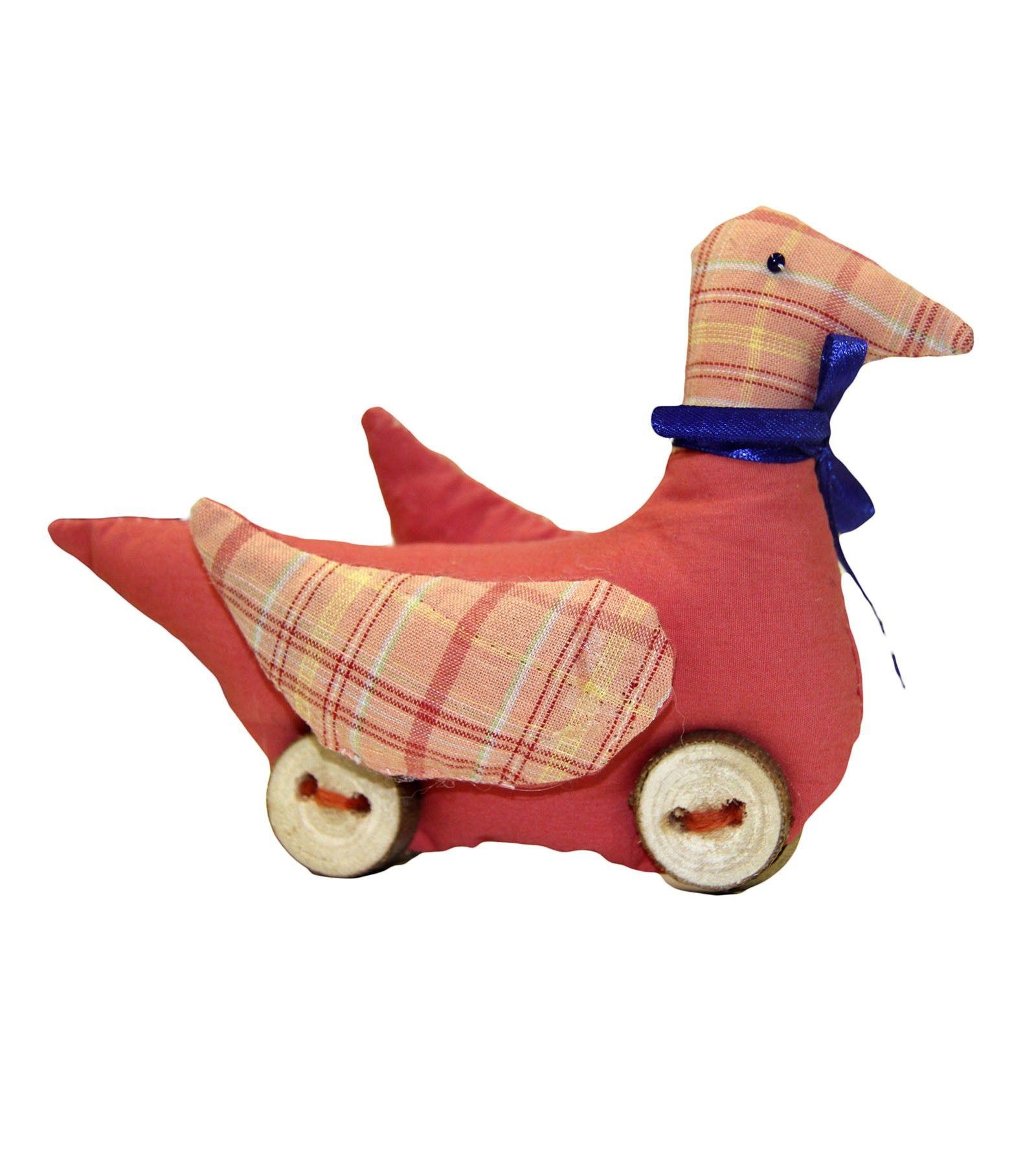 Мягкая игрушка «Уточка на колесиках» (с изображениями ...