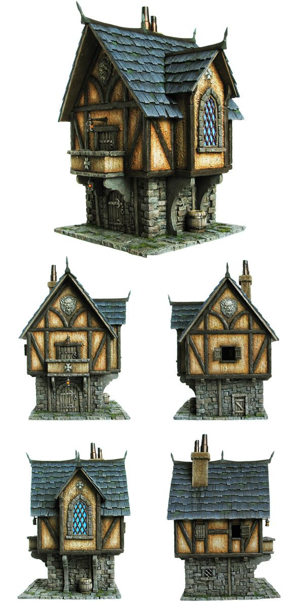 Tabletop world merchant 39 s house fantasy reference for Fantasy house plans