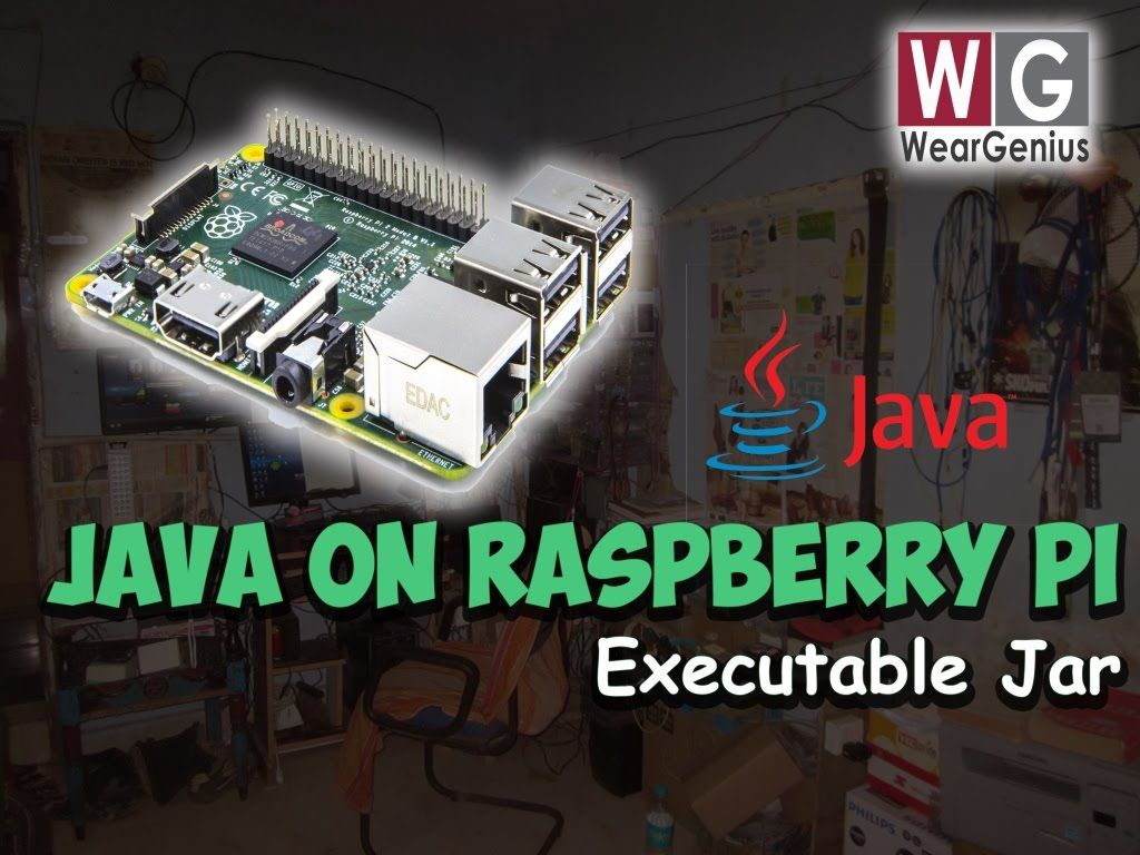 Raspberry Pi Running Java Application Weargenius Youtube Electronic Circuit