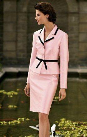 Hermoso traje sastre rosa. Hermoso traje sastre rosa Vestidos Sastres Para  Dama ... 0ba6a958450b