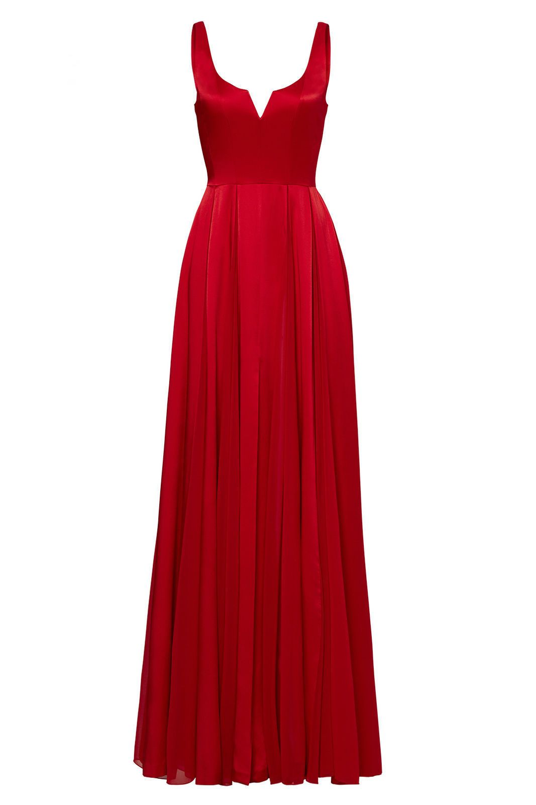 Awesome great halston heritage red womenus size vneck pleated