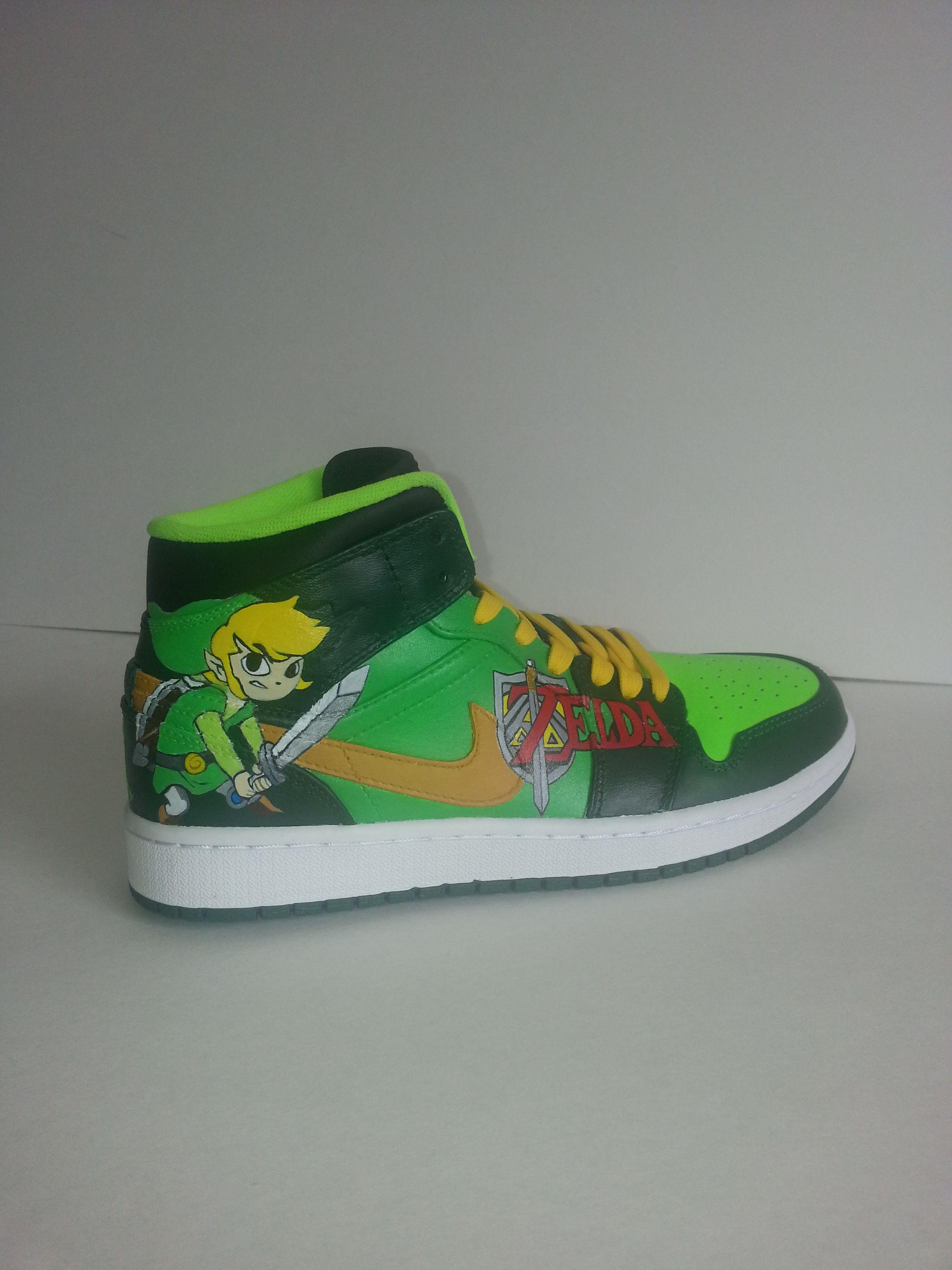 Legend of Zelda Jordans