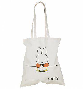 Miffy behandlingen duk Tote Bag