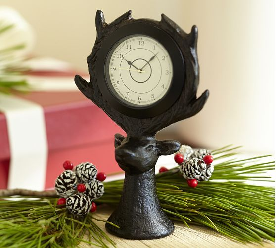 Stag Clock | Pottery Barn