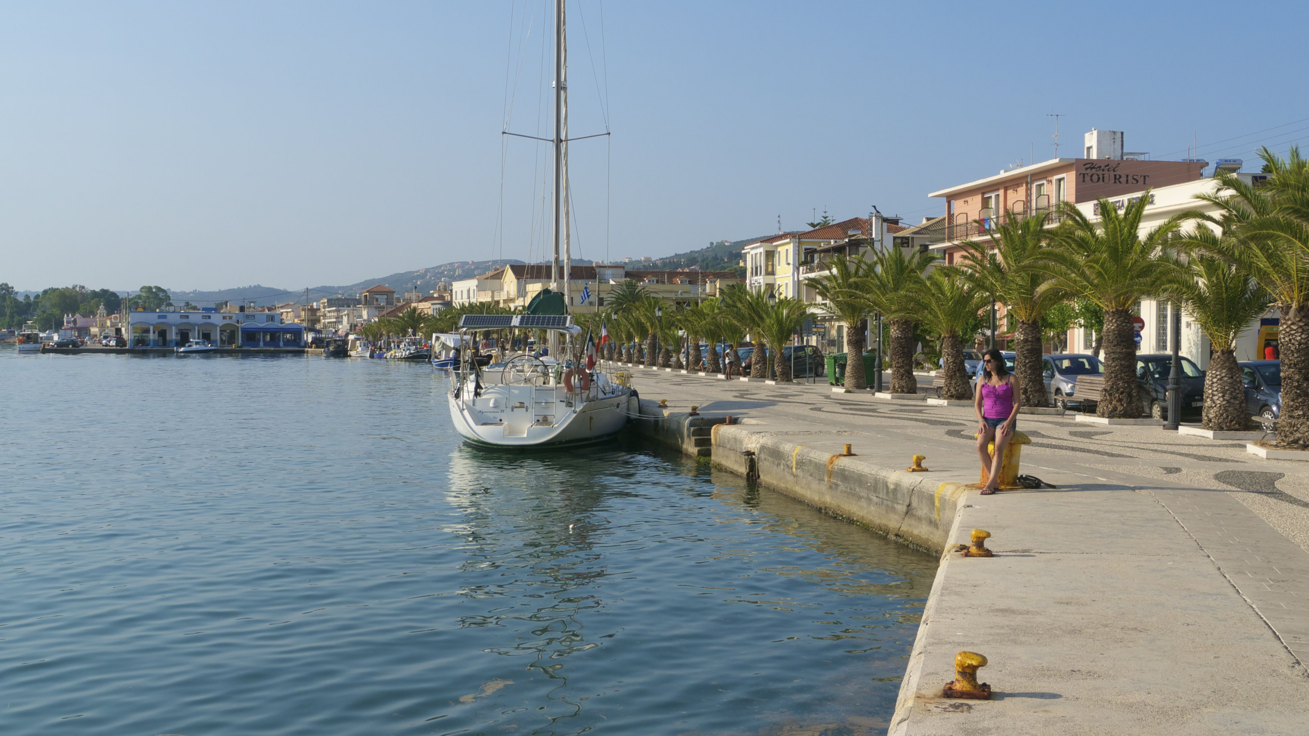 Argostoli Kefalonia Greece A Picturesque Port Which Has