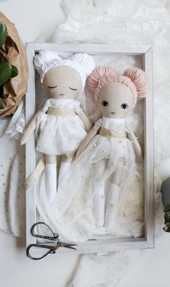 Rag doll pattern and detailed instructions in English #instructionstodollpatterns