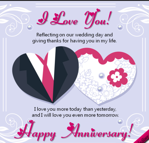 romantic anniversary wishes for wife love quotes
