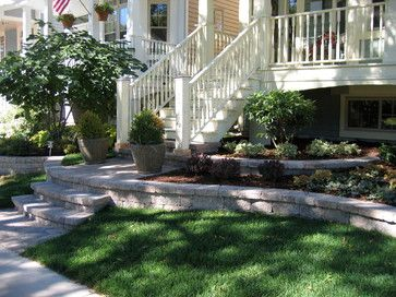 Raised Ranch Landscaping Ideas 22 356 Front Yard Hardscape Home