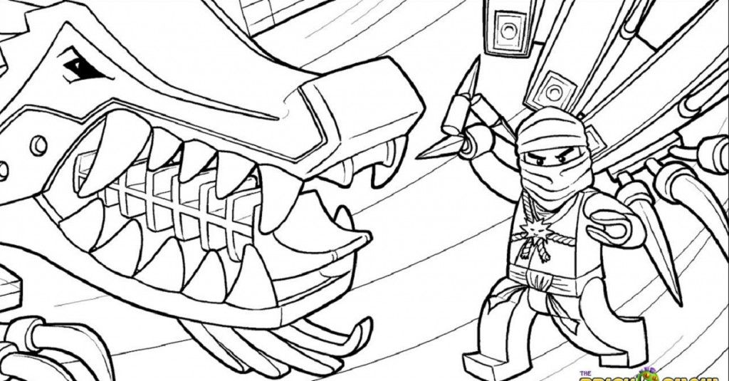 Ninjago Master Chen Coloring Pages Collection