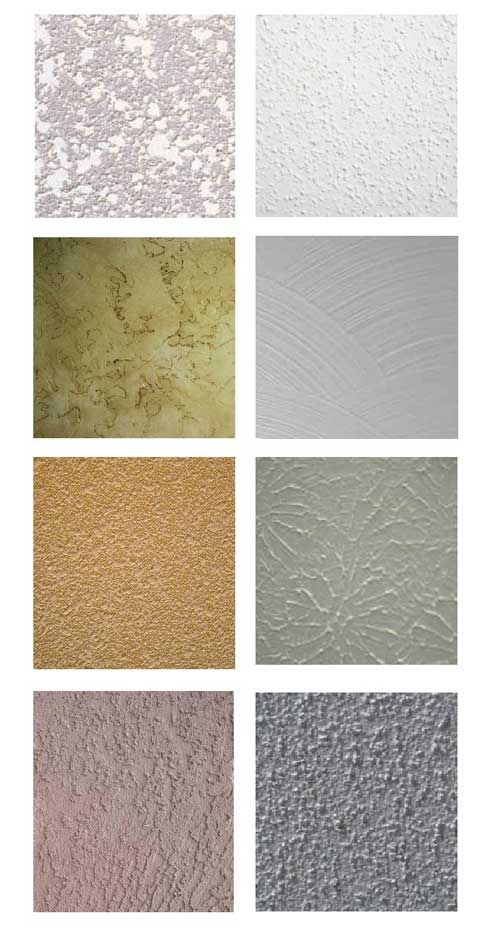 Drywall textures drywall wall texture types ceiling - Exterior wall finishes materials ...