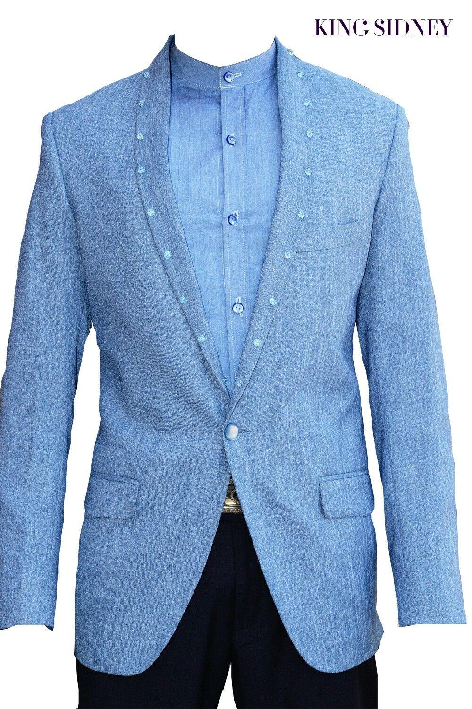 Briolette beaded shawl collar blazer | Men\'s unique wedding blazers ...