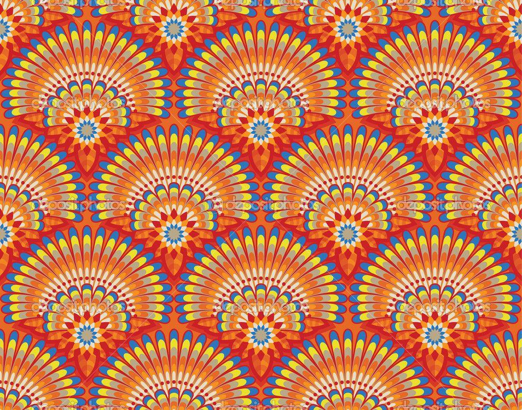 Ethnic iphone wallpaper - Ethnic Wallpaper Pattern Stock Vector Maria Kats