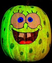 cartoon painted pumpkins - Google Search