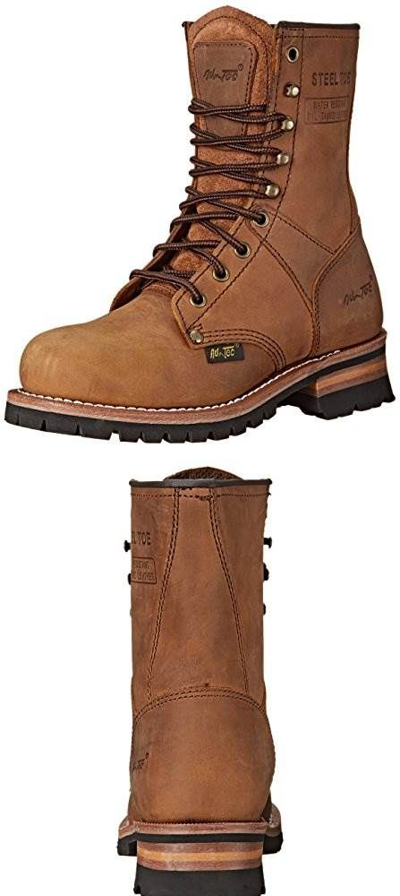 01ebb881cc0 NEED: AdTec Womens 9 Steel Toe Logger Brown Work Boot #SHOES | Cool ...