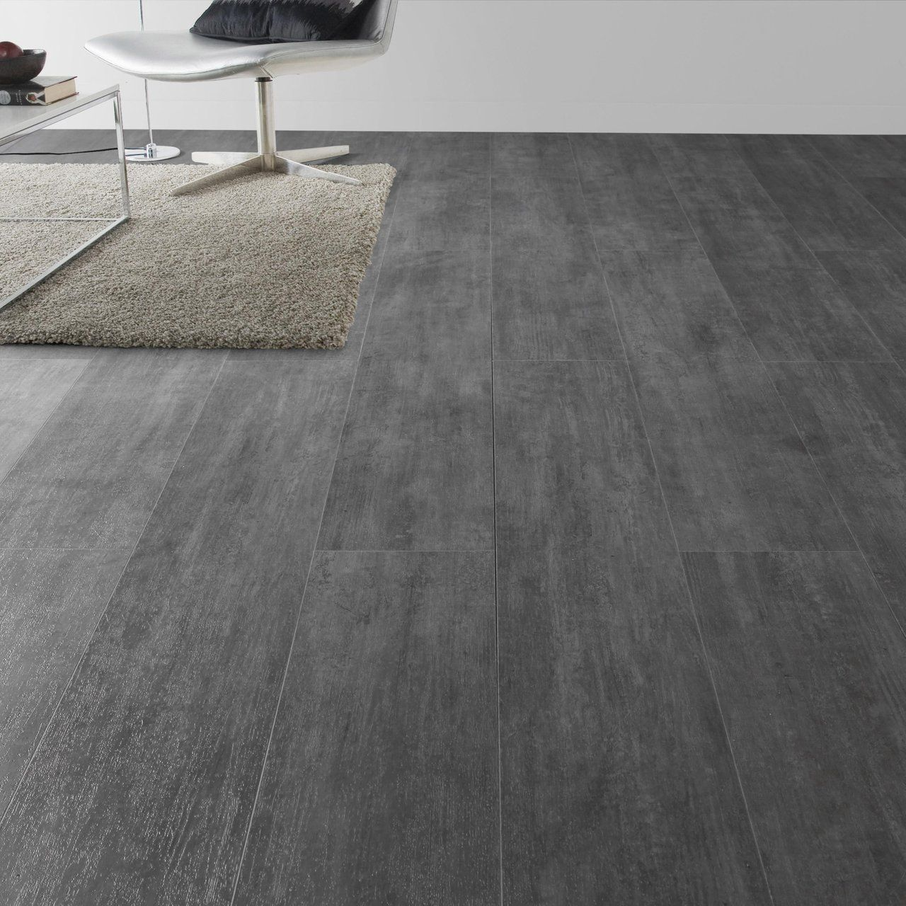 Lame Pvc Clipsable Nolita Grey Gerflor Senso Premium Clic Leroy Merlin Sol Pvc Sol Pvc Clipsable Lame Pvc Clipsable