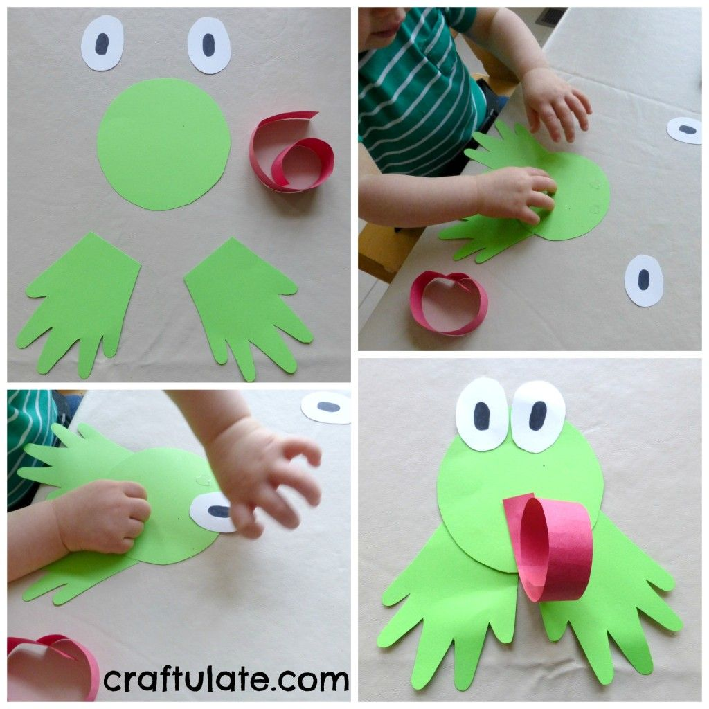 Green Crafts And Activities Learning Colours With Brown