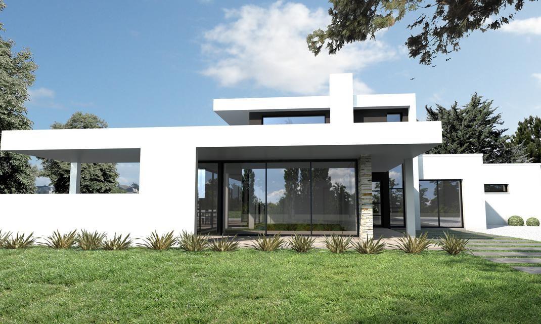 Découvrez cette Maison ultra moderne noir et blanc Nantes ! Depreux ...