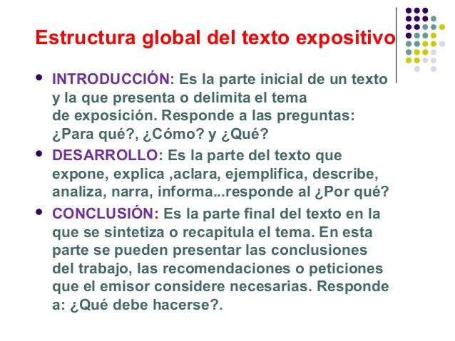 Estructura De Un Texto Expositivo Google Search Textos
