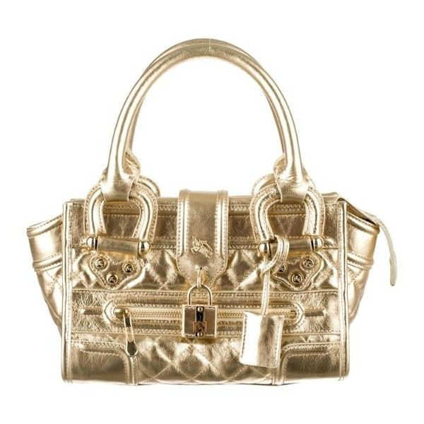 Burberry Metallic Purse