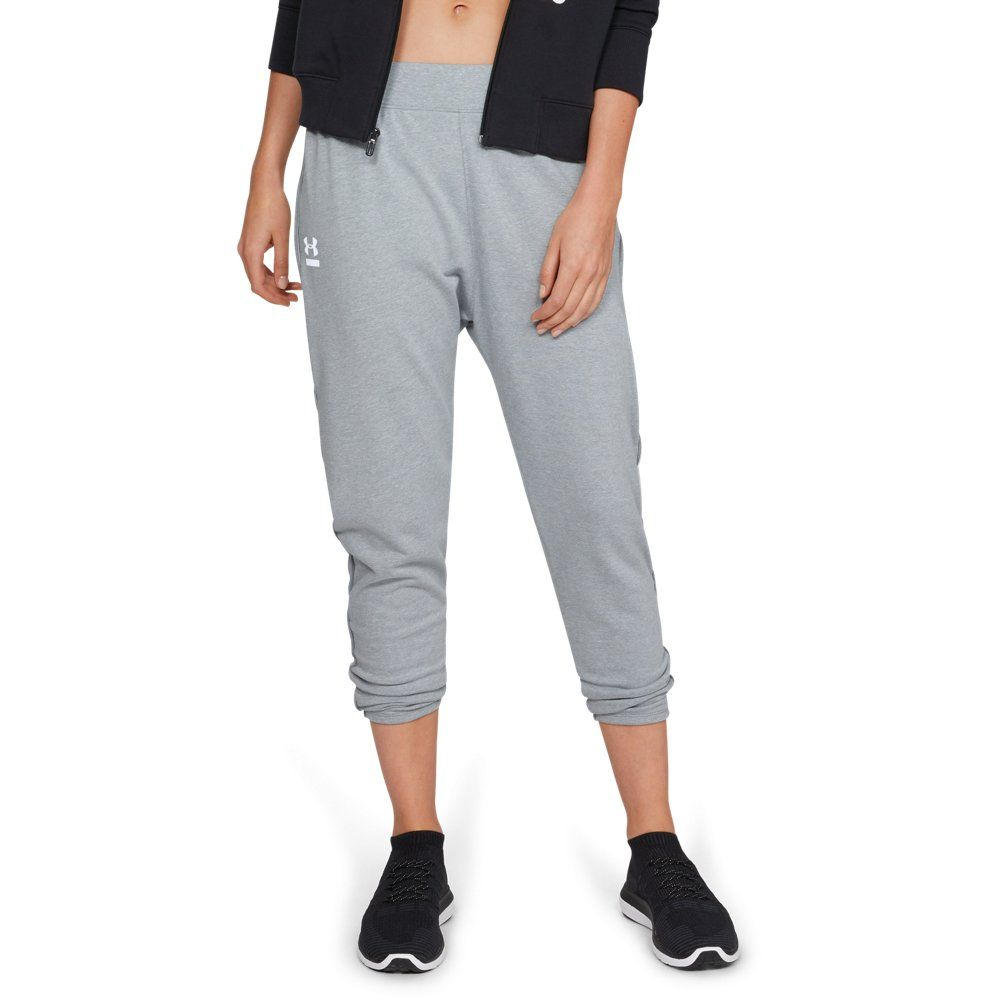 Black////Coded Blue Youth Under Armour Rival Terry Track Pant