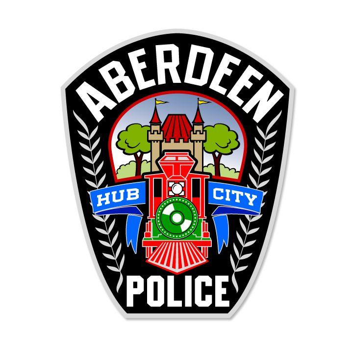 Patch Design For Aberdeen Police Department Mcquillen Creative Group Troy Mcquillen Designer Logo Design Aberdeen Logos
