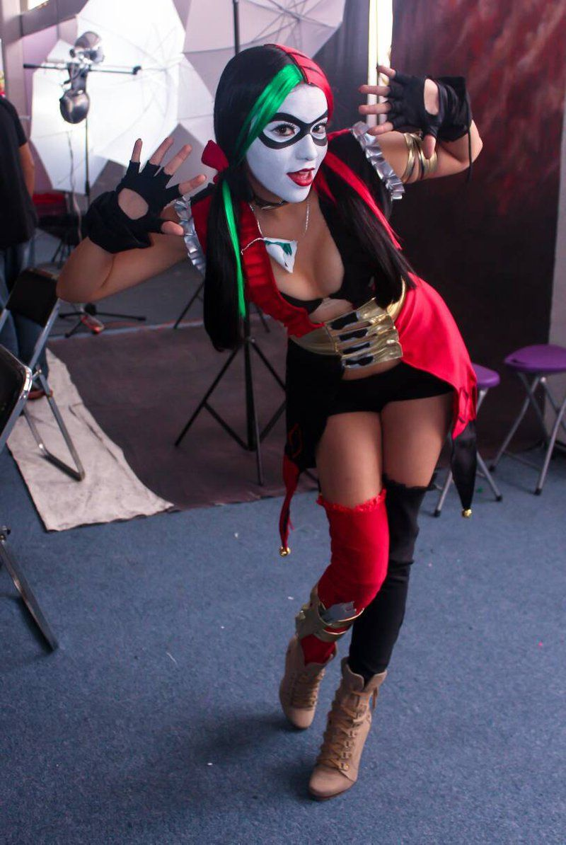 Character harley quinn dr harleen quinzel from warner bros harleen frances quinzel from warner bros interactive entertainments injustice gods among us video game cosplayer unknown voltagebd Gallery