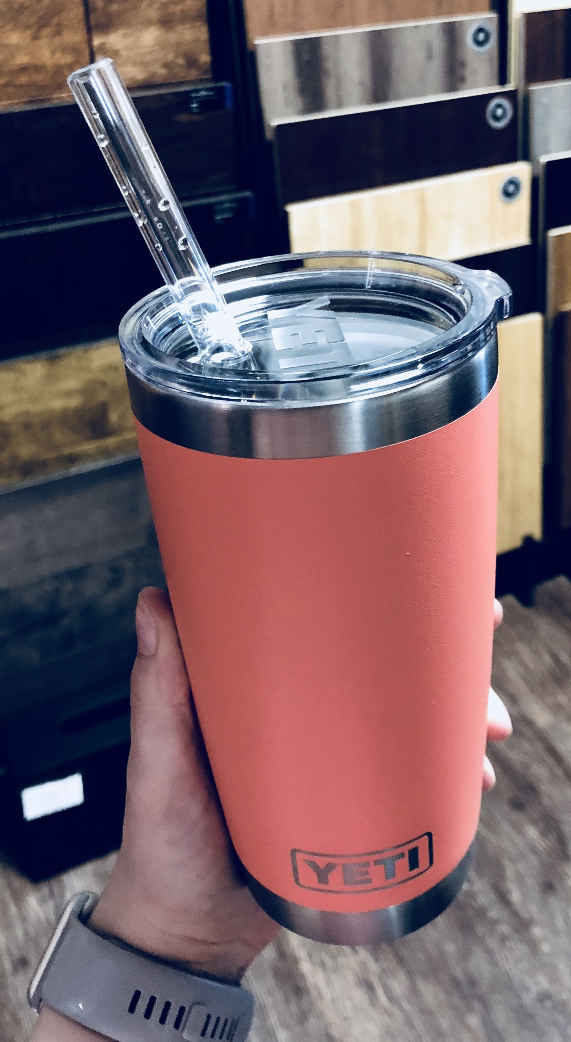 Limited Edition Coral Yeti Tumbler 20oz Yeti Cute Water Bottles Yeti Cup
