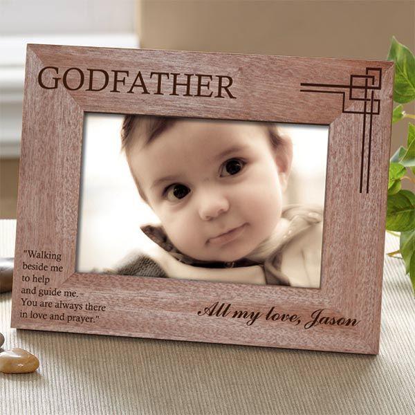Godparent Personalised Photo Frame-Giftsfarm   Godparent frames and ...