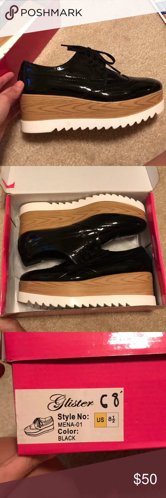 a0b79772df23 New Glister Platform Sneaker(sim Stella McCartney) Like New Glister  Platform Sneakers! They are very similar to the Stella McCartney ones that  are over ...