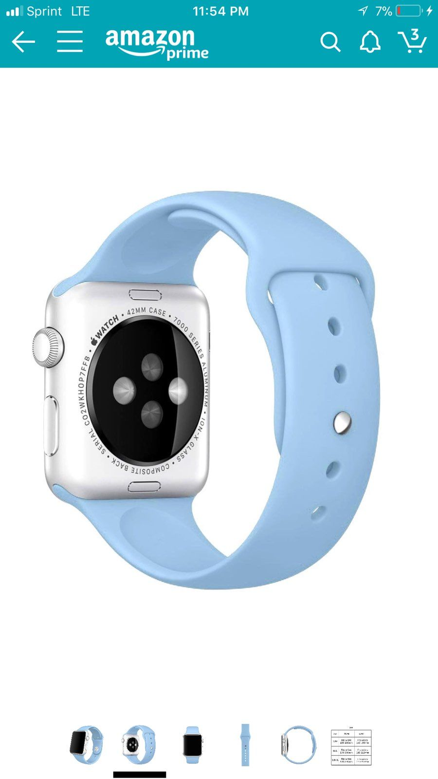 Sport Band For Apple Watch 38mm Mercari The Selling App Apple Watch 38mm Apple Watch Apple Watch Nike