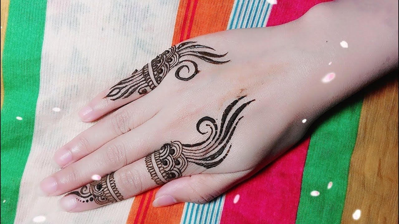 Mehndi Henna Las Vegas : Diy mehendi jagua design for fingers tutorial henna temporary