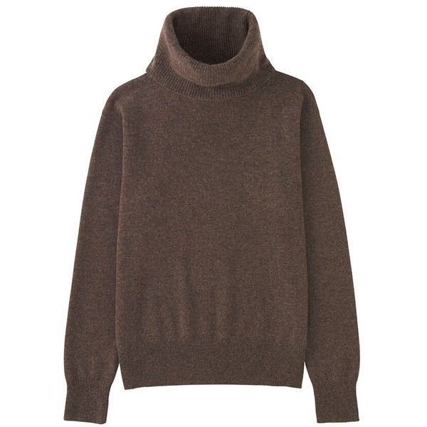 100% Cashmere Turtle Neck Sweater ($88) ❤ liked on Polyvore ...