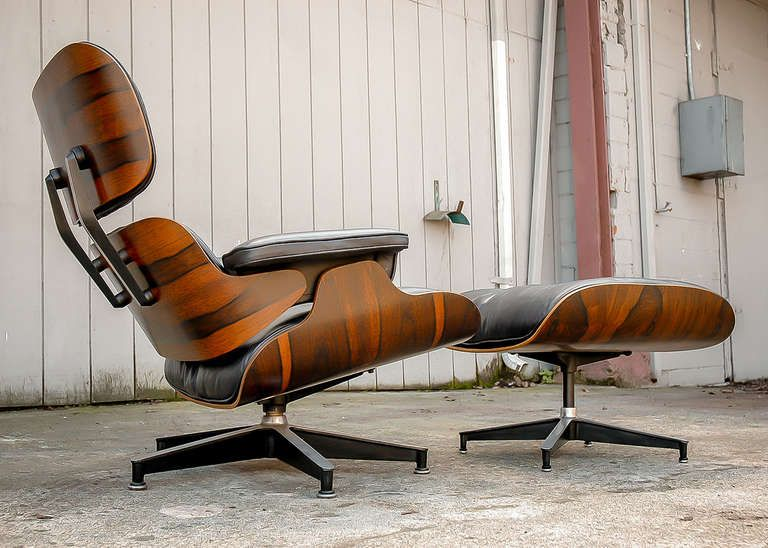 charles eames for herman miller 670 671 rosewood lounge chair and rh pinterest com