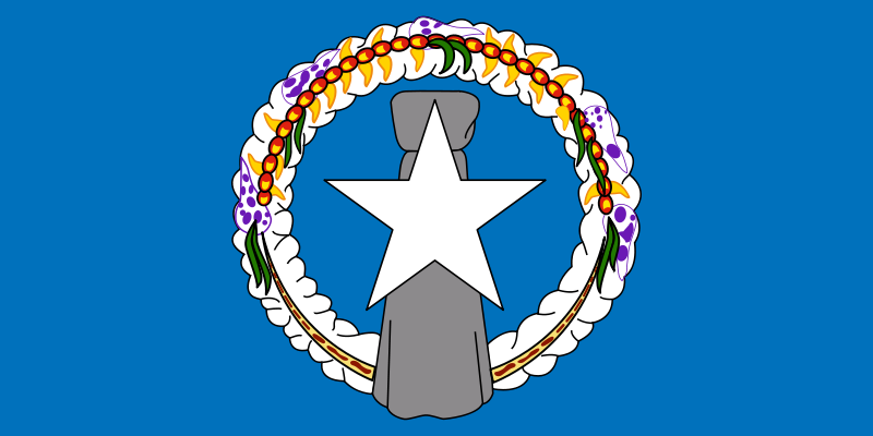 (NORTHERN MARIANA ISLANDS) officially the Commonwealth of the Northern Mariana Islands is one of the five inhabited U.S. territories (the other four being Guam, Puerto Rico, the U.S. Virgin Islands and American Samoa).