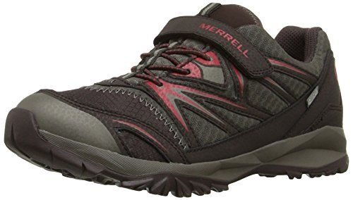 Azura Gtx - Zapatos De Senderismo De Cuero Mujer, color negro (black/carbon), talla 38 Merrell
