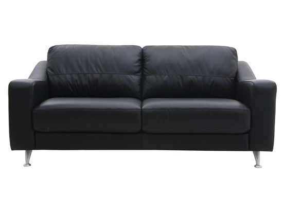 Sensational Pienza Leather Sofa Black Sofa Black Sofa Black Gmtry Best Dining Table And Chair Ideas Images Gmtryco
