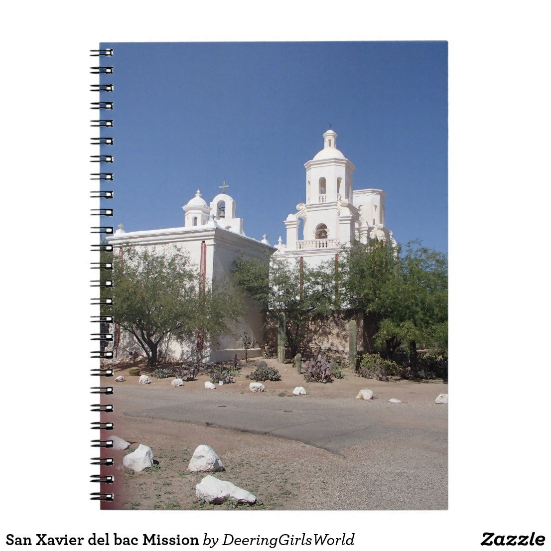 San Xavier del bac Mission Notebook