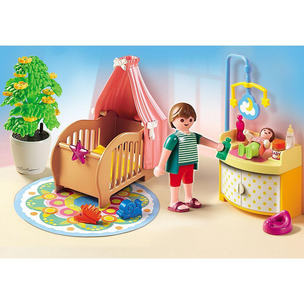 Playmobil Dollhouse Magiczny pokój bobasa, 5334, klocki | Delfinki ...