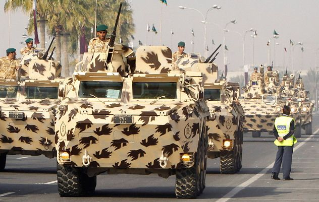 Qatar Armed Forces | Armed Forces | Armored vehicles, Tank